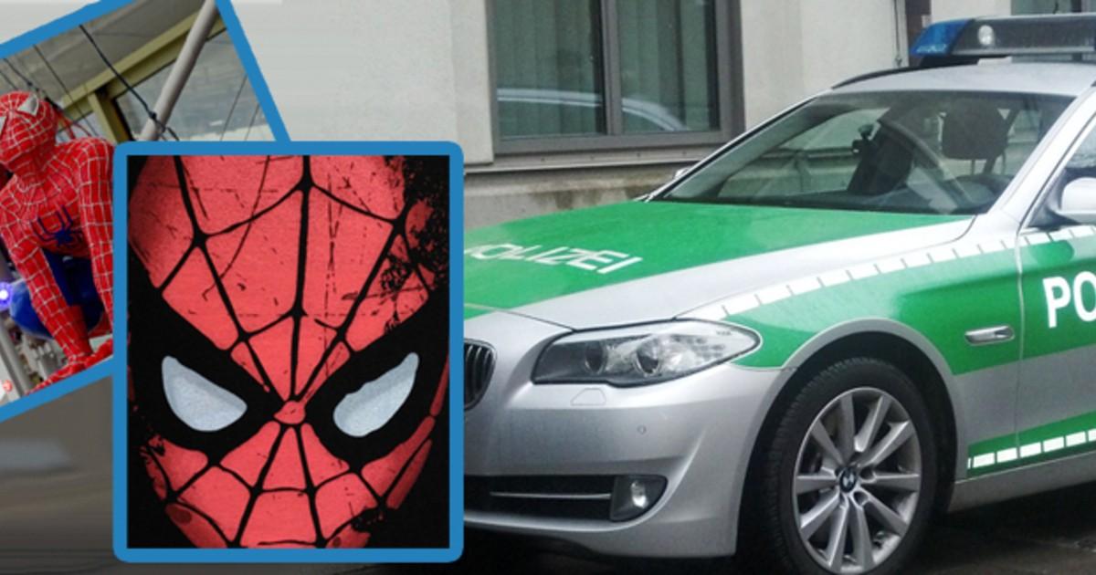 Schwerer Raub in der Isarvorstadt Spiderman überfällt