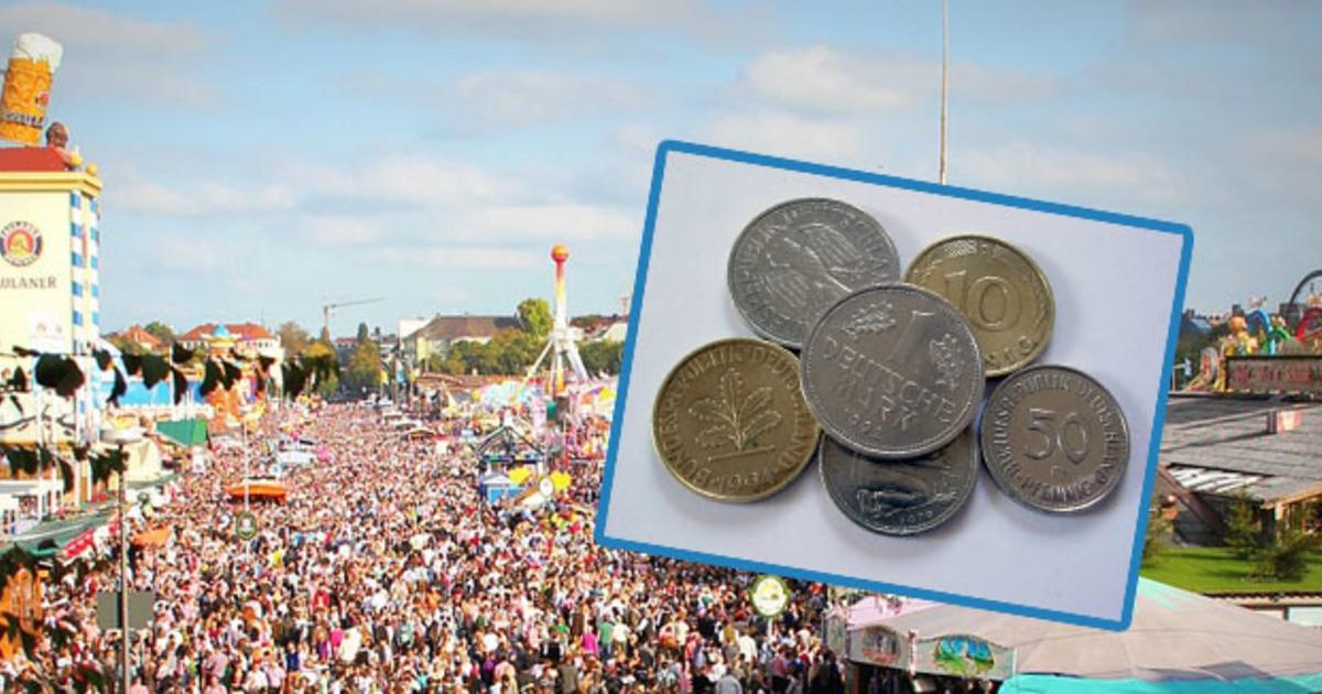 Maß Für 23 Mark Dm Münzen Und Scheine Auf Der Wiesn Wechseln