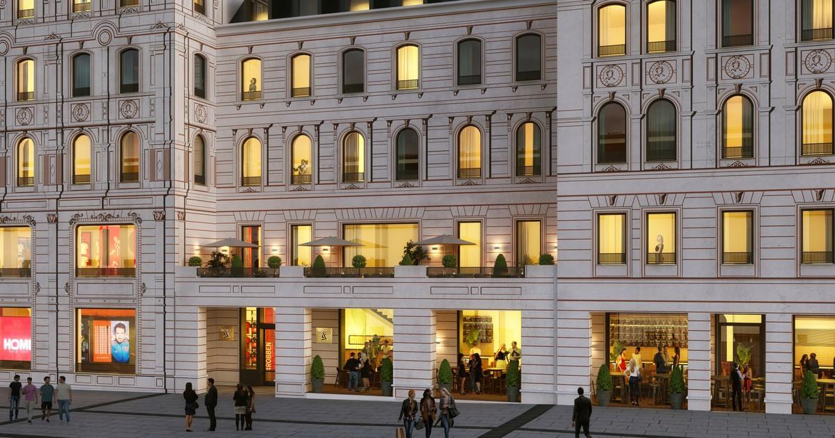 Grosster Fc Bayern Shop Mit Restaurants Und Hotel In Munchen Munchen Tv