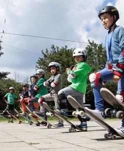 Skateboard-Workshop beim Lilalu, © Foto: Achim Schmidt