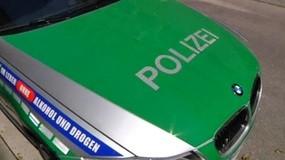 Polizeiwagen im Einsatz