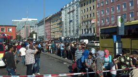 © Hunderte Flüchtlinge kommen am Hauptbahnhof an
