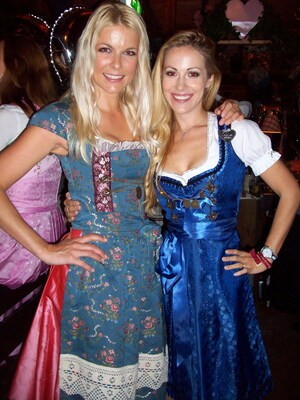 Wiesn Andrea Kaiser Sportmoderatorin Oktoberfest 2014, © Tina Kaiser und Andrea Kaiser