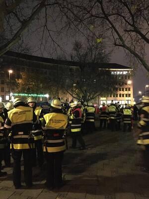 Flüchtlinge Sendlinger Tor Hungerstreik Camp
