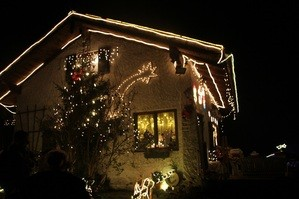 weihnachtshaus, deining, weihnachten, © Foto: Susette Kleiner
