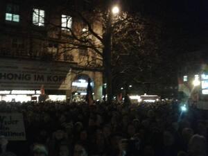 muenchen ist bunt pegida gegner demo, © München ist Bunt - Demo der Pegida Gegner