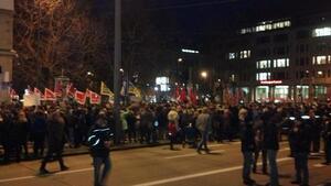 München ist Bunt Demo am Sendlinger Tor, © München ist Bunt und Bagida Demo am Sendlinger Tor