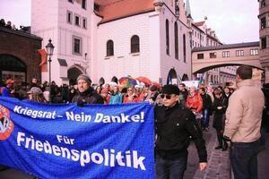 Demo Sicherheitskonferenz 2014 München