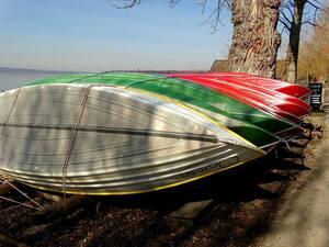 © Auch die Boote können bald zu Wasser gelassen werden Bild: Agnes aus München