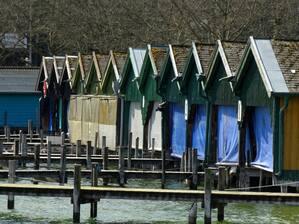 © Bei den Booten herrscht noch Winterschlaf Bild: Agnes aus München