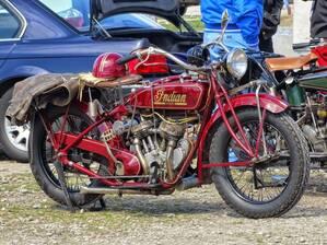 Oldtimer-Treffen auf dem Münchner Frühlingsfest Motorrad, © Oldtimer-Treffen auf dem Münchner Frühlingsfest - Foto Agnes aus München