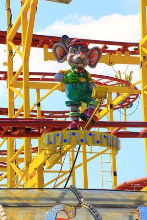 Fahrgeschäft Wilde Maus auf dem Frühlingsfest