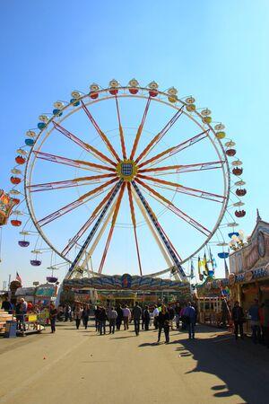 Riesenrad auf dem Frühlingsfest