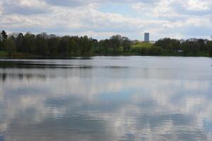 Ein See mitten in München, © Foto: Zura aus München