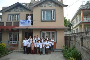 Waisenhaus in Nepal für das man Spenden kann, © Dieses Waisenhaus können sie in Nepal unterstützen - Foto: Medizinisches Katastrophen Hilfswerk