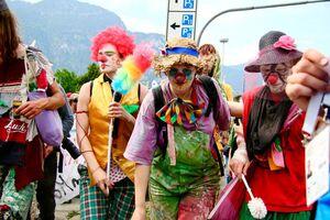 G7-Gipfel: Demo in Garmisch Partenkirchen