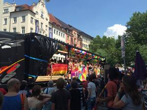 Christopher Street Day 2015 in München