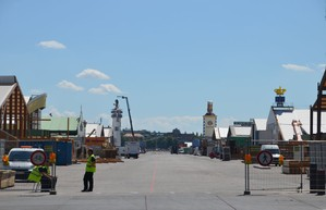 oktoberfest wiesn aufbau 2015 octoberfest building construction