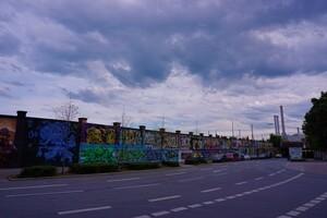 Graffitti in München an der Isar, © Grafitti in München - Foto:  Dirk Schiff/Portraitiert.de