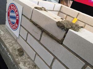 FC Bayern Grundstein neues Sportgelaende