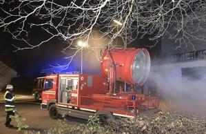 Brandstiftung Tiefgarage Neuperlach, © Brandstiftung in einer Tiefgarage in Neuperlach - Foto der Berufsfeuerwehr München