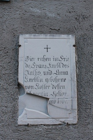 Alte Peter grabstein, © Grabstein Alter Peter