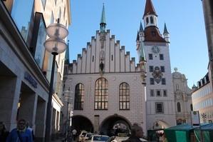 altes rathaus von vorne mit turm, © Altes Rathaus