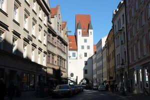 Burgstraße München mit Weinstadl, © Burgstraße München