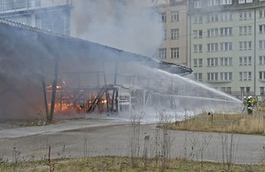 Orleansstrasse feuer Ostbahnhof IHK , © Foto der Berufsfeuerwehr München