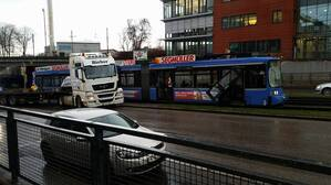 tram unfall landsbergerstrasse, © Foto: Cemo Thedestroyer
