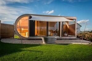 © Lounge von Holzbau Werner Ettwein. Foto: Jens Hagen / GHM