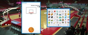 basketball spielen im facebook messenger