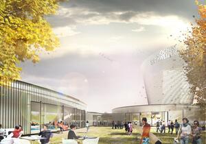 © Visualisierung - So soll die Jochen Schweizer Arena aussehen - Foto:  jochen-schweizer.de