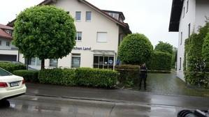 Überfall Bank in der Münchner Straße