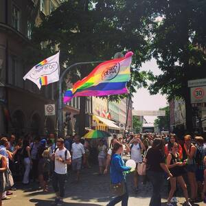 Christopher Street Day 2015 in München, © Christopher Street Day in München