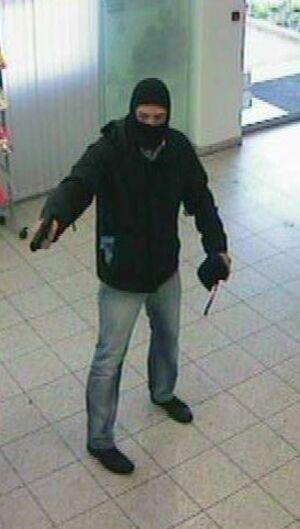 Der gesuchte Bankräuber, © Foto: Polizei