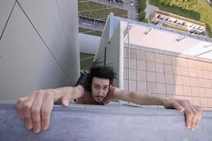 Auf Münchens Dächern Icarus der Rooftopper am Abgrund, © Foto:  Icarus Senpai