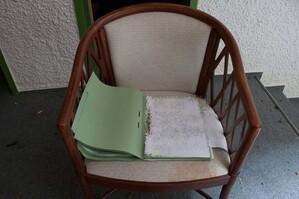 © Sogar Patientenakten mit Infos über Patienten finden sich in dem ehemaligen Kursanatorium