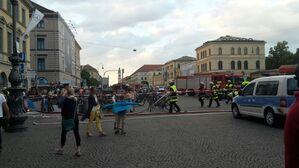 Einsatz U-Bahn Feuerwehr