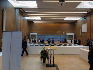 München-Stadelheim: Einweihung des neuen Hochsicherheitsgerichtssaals