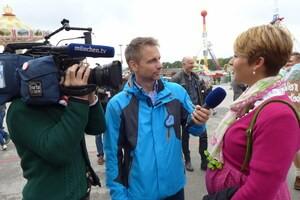 © Interview mit Magdalena Neuner auf der Wiesn