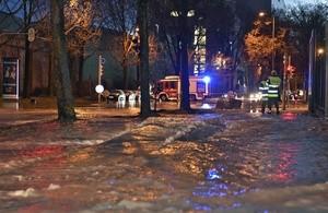 Wasserrohrbruch Schäftlarnstraße, © Foto der Berufsfeuerwehr München