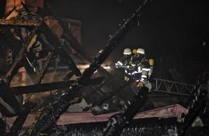 Schaden nach Brand in der Tengstraße in München, © Foto: Berufsfeuerwehr München