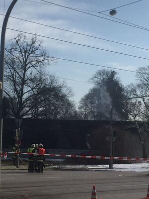 Brand an der Arnulfstraße
