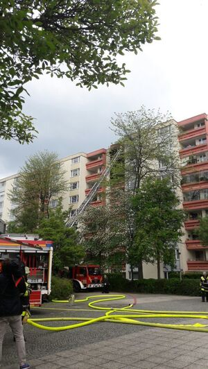 Brand an der Plettestraße