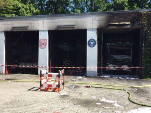 Schaden am Gerätehaus der Feuerwehr