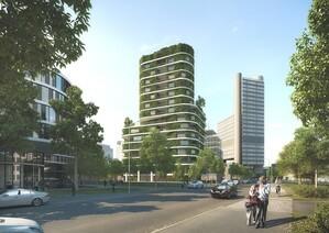 So soll das neue grüne Hochhaus aussehen, © Arabellastraße 26 - Liegenschaftsverwaltungs GmbH & Co. KG