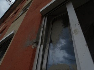 Betonschaden an Fenster, © Foto: Polizeiinspektion Germering