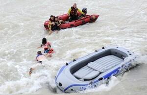 © Symbolfoto einer Rettungsaktion in der Isar