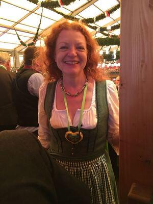 © Margarethe Bause auf dem Oktoberfest